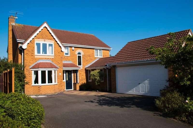 4 Bedrooms Detached House for sale in Hollytree Close, Loughborough