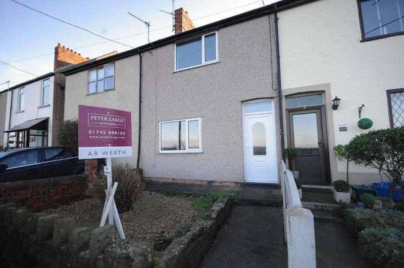 2 Bedrooms Terraced House for sale in Picton Road, Penyffordd
