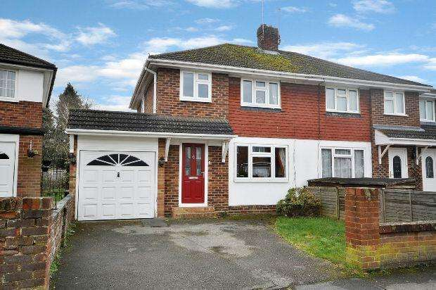 3 Bedrooms Semi Detached House for sale in Malone Road, Woodley, Reading,