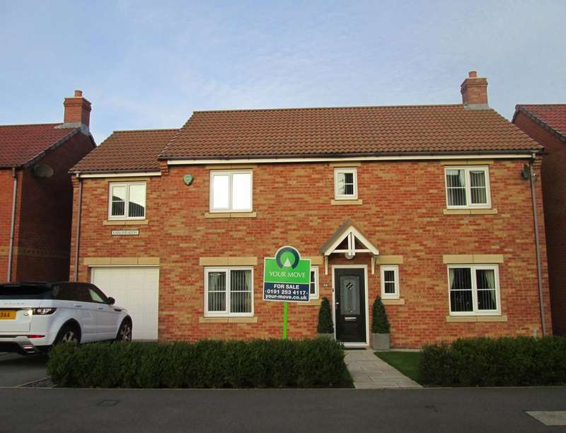5 Bedrooms Detached House for sale in Earlsmeadow, Shiremoor, Newcastle Upon Tyne, NE27