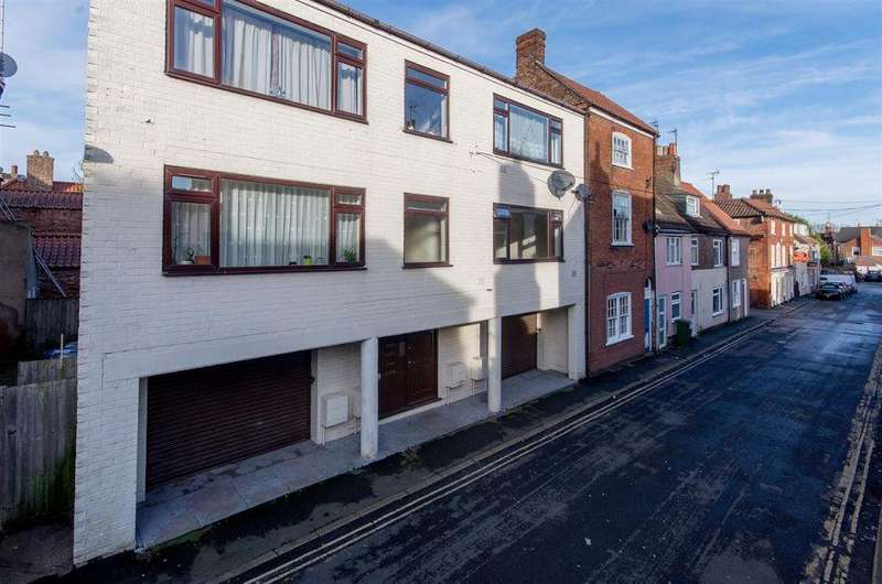 Studio Flat for sale in Langrick House,2 Witham Street