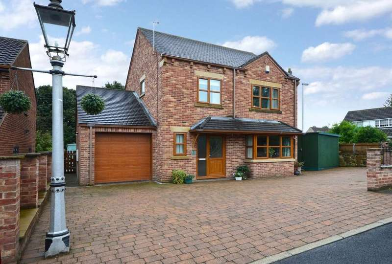 4 Bedrooms Detached House for sale in Adowsley Close, Ackworth