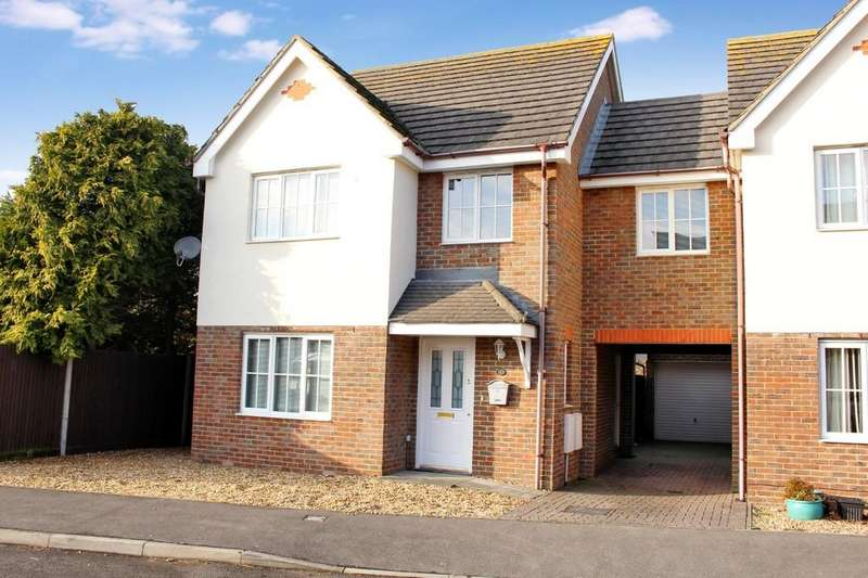 4 Bedrooms Link Detached House for sale in The Saplings, Holbury, Southampton