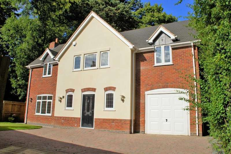 4 Bedrooms Detached House for sale in Eccleshall Road, Stafford