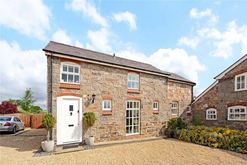 4 Bedrooms Semi Detached House for sale in Lower Mountain Farm, Lower Mountain Road, Penyffordd, Chester, CH4