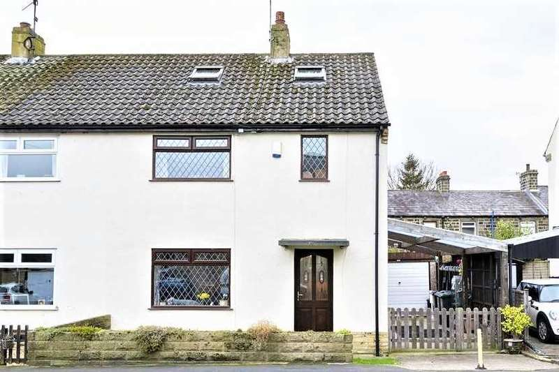 3 Bedrooms Semi Detached House for sale in 34 North Parade, in the heart of Burley-in-Wharfedale LS29 7JR
