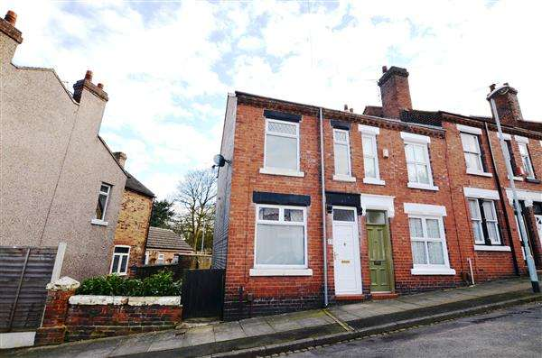 2 Bedrooms End Of Terrace House for sale in Dominic Street, Penkhull, Stoke On Trent