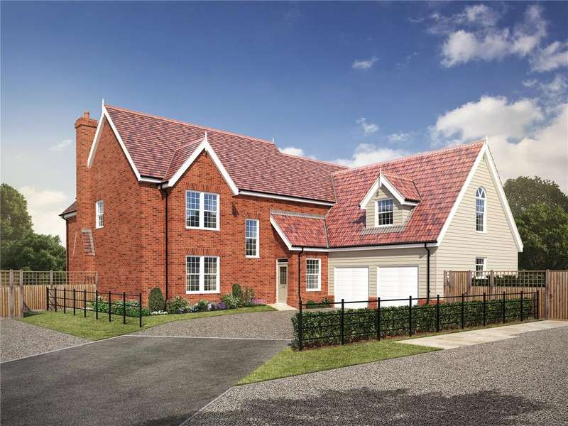 5 Bedrooms Detached House for sale in Plot 12 - Straight Road, Foxhall, Ipswich, Suffolk, IP3