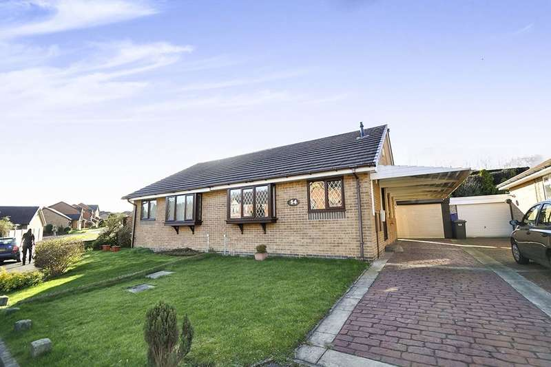 2 Bedrooms Semi Detached Bungalow for sale in Thornbrook Gardens, Chapeltown, Sheffield, S35