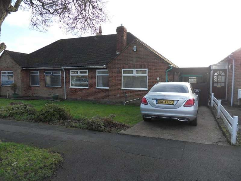 2 Bedrooms Semi Detached Bungalow for sale in Stoneycroft Road, Earl Shilton