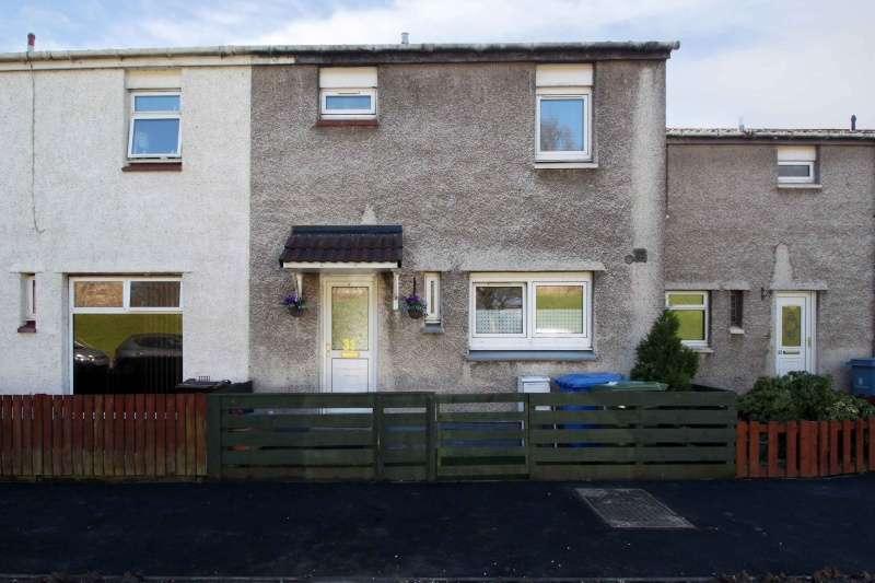 3 Bedrooms Terraced House for sale in Avon Court, Hallglen, Falkirk, Stirlingshire, FK1 2QB
