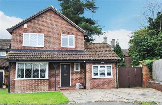 4 Bedrooms Detached House for sale in 217 London Road, DUNTON GREEN, Sevenoaks, Kent