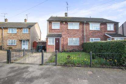 3 Bedrooms Semi Detached House for sale in Guernsey Close, Luton, Bedfordshire, England