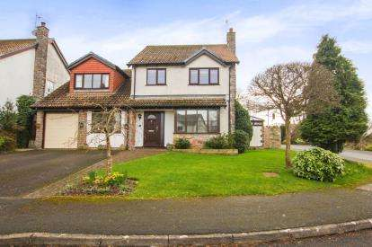 4 Bedrooms Detached House for sale in Denys Court, Olveston, Bristol, South Gloucestershire