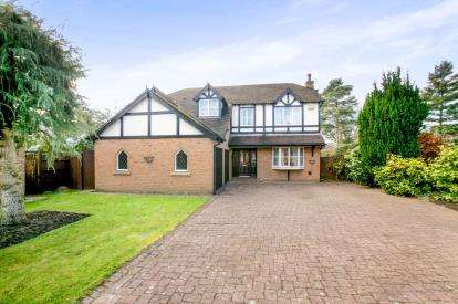 5 Bedrooms Detached House for sale in Buckingham Drive, Knutsford, Cheshire