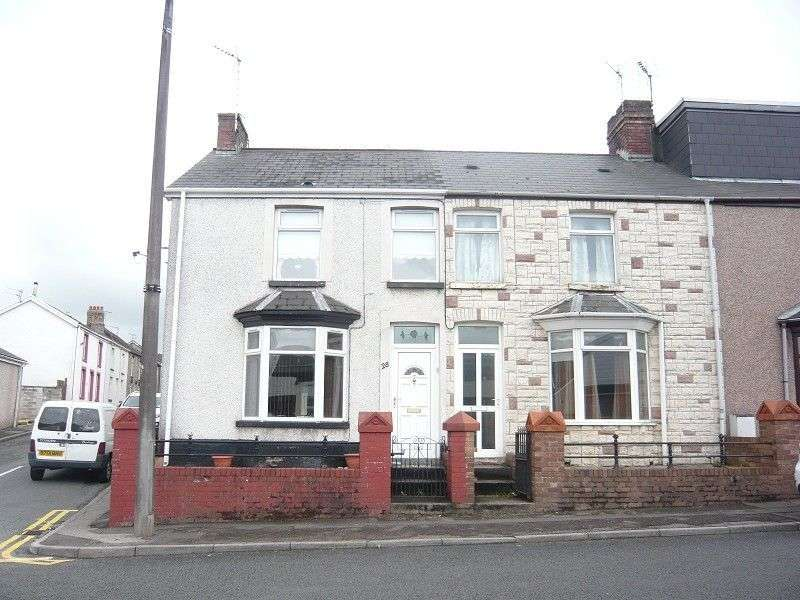 3 Bedrooms End Of Terrace House for sale in Bridgend Road, Aberkenfig, Bridgend. CF32 9BG