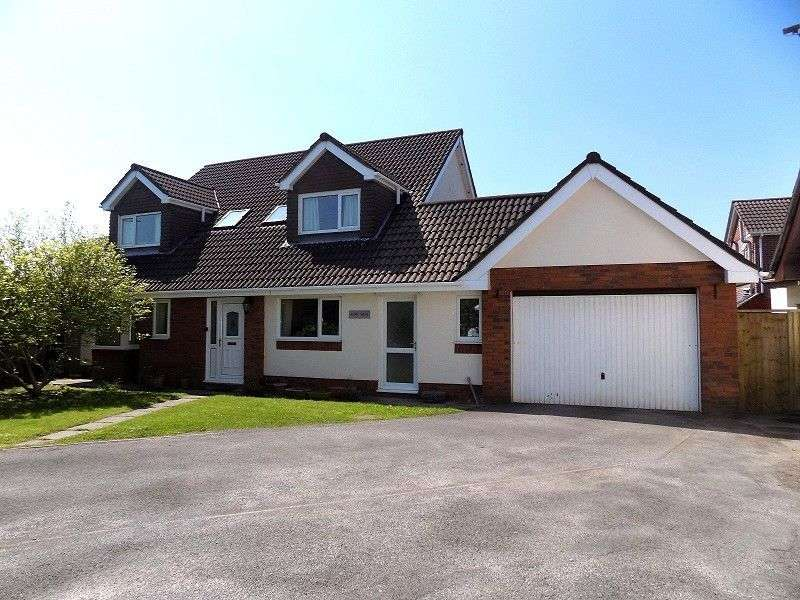 4 Bedrooms Detached House for sale in Brackla Way, Brackla, Bridgend. CF31 2JS