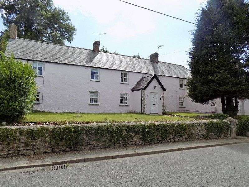 5 Bedrooms Detached House for sale in Corntown Farmhouse Corntown, Corntown, Vale of Glamorgan. CF35 5BB