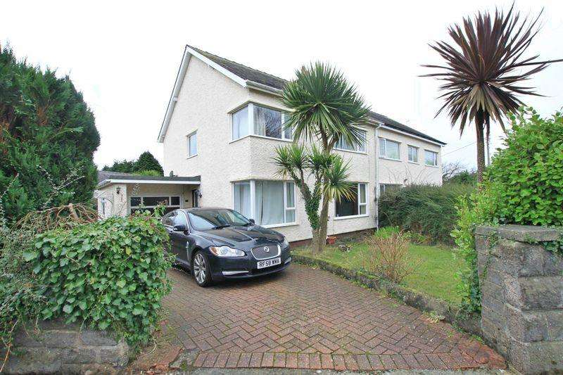 3 Bedrooms Semi Detached House for sale in Bangor, Gwynedd