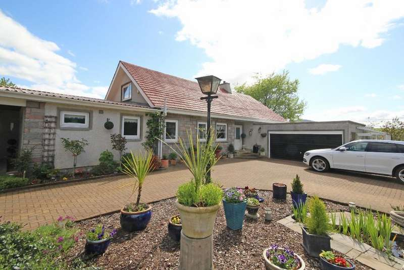 5 Bedrooms Detached House for sale in Dallerie Road , Crieff , Perthshire , PH7 4EG