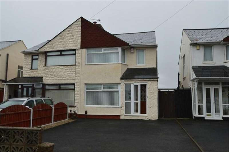 3 Bedrooms Semi Detached House for sale in Tansey Green Road, Pensnett, Brierley Hill, West Midlands