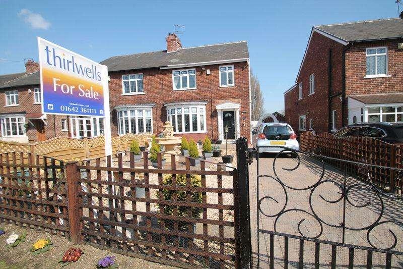 3 Bedrooms Semi Detached House for sale in Station Road, Billingham