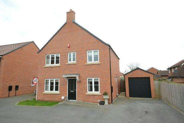 4 Bedrooms Detached House for sale in Peterson Drive, Renaissance , New Waltham, GRIMSBY