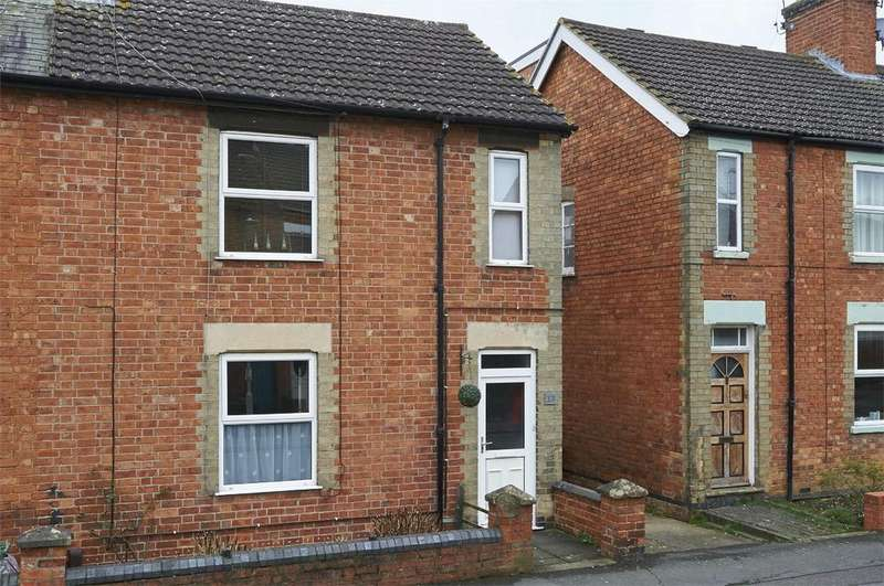 2 Bedrooms End Of Terrace House for sale in Cross Street, Market Harborough, Leicestershire