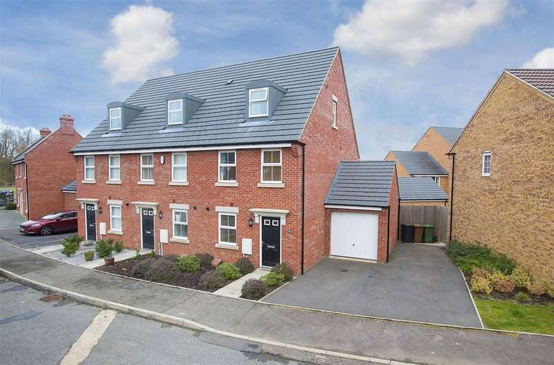 3 Bedrooms End Of Terrace House for sale in Clarendon Close, Little Stanion, Northamptonshire