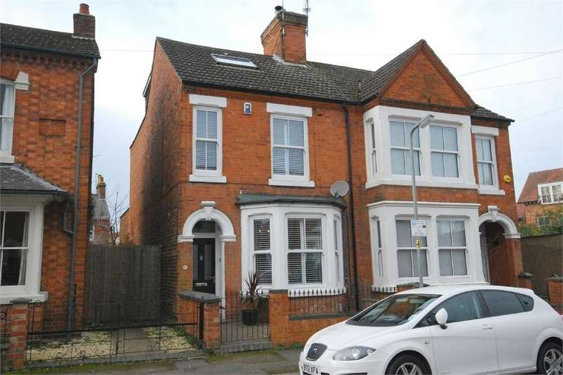 3 Bedrooms Semi Detached House for sale in Queen Victoria Street, RUGBY, Warwickshire