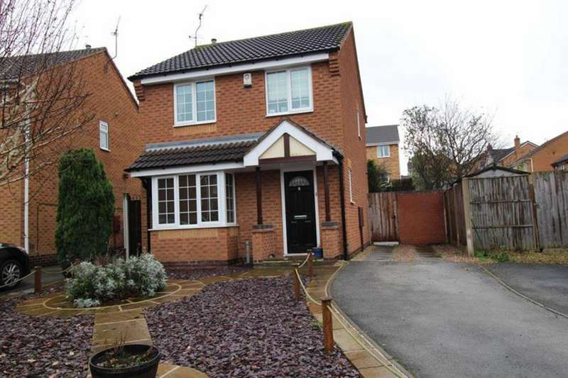 3 Bedrooms Detached House for sale in 2 Eastwood Court, Worksop