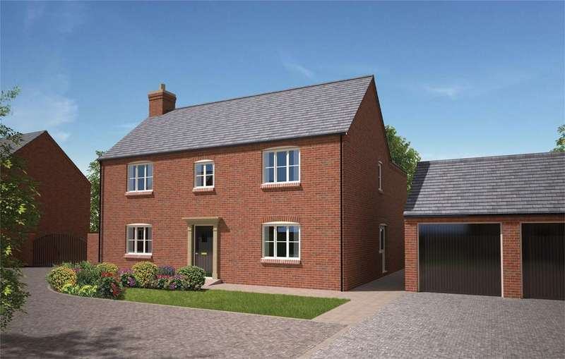 4 Bedrooms Detached House for sale in The Yews, Rocester, Staffordshire
