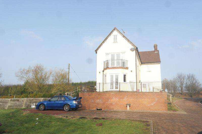 5 Bedrooms Detached House for sale in Walsall Road, Springhill, Lichfield.