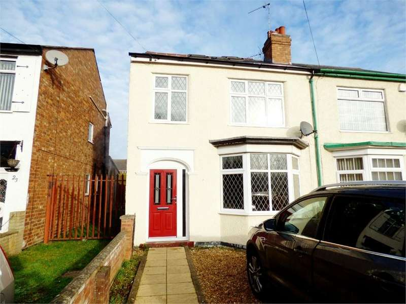 3 Bedrooms Semi Detached House for sale in Brinklow Road, Binley, Coventry, West Midlands