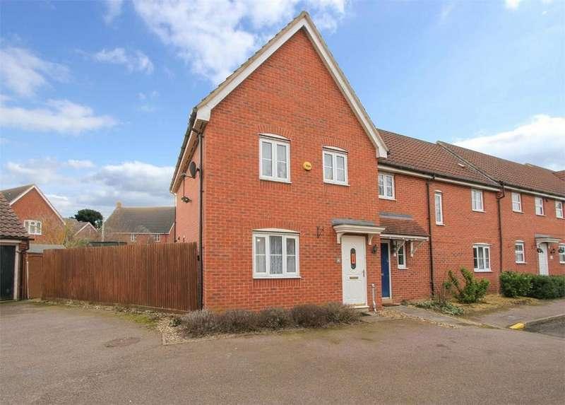5 Bedrooms End Of Terrace House for sale in Meadowsweet Road, Wymondham, Norfolk