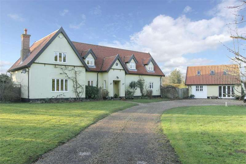 4 Bedrooms Detached House for sale in Watton Road, Larling, Norfolk