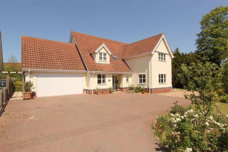 5 Bedrooms Detached House for sale in Kenninghall Road, Banham, Norfolk