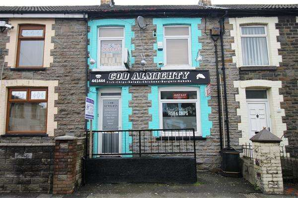 2 Bedrooms Commercial Property for sale in Almighty Cod, Brithweunydd Rd,, Tonypandy