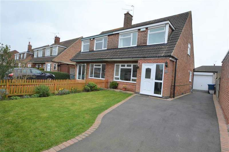 3 Bedrooms Semi Detached House for sale in Fairway, Keyworth, Nottingham
