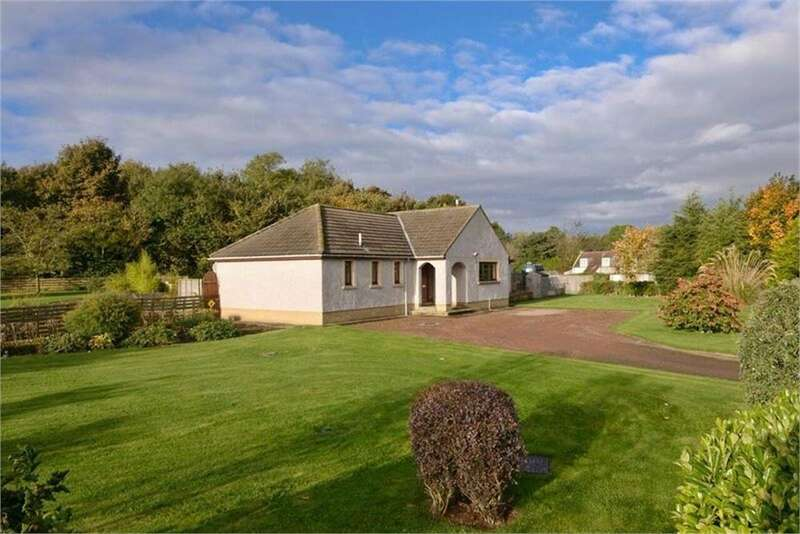 3 Bedrooms Detached Bungalow for sale in Mill Valley, Edrom, DUNS, Berwickshire, Scottish Borders
