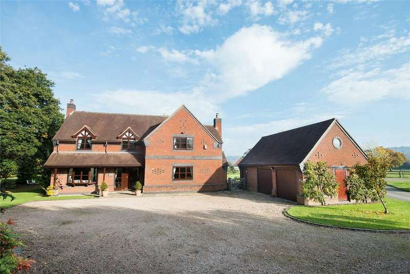 4 Bedrooms Detached House for sale in Reddings Oaks, 2 The Woodlands, Longville, Much Wenlock, Shropshire