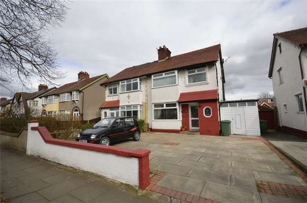 3 Bedrooms Semi Detached House for sale in Teehey Lane, Bebington, Merseyside