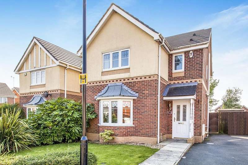 3 Bedrooms Detached House for sale in De Haviland Way, Skelmersdale, WN8