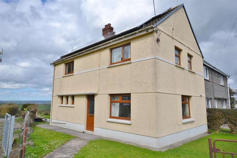 3 Bedrooms Semi Detached House for sale in Llansaint, Kidwelly