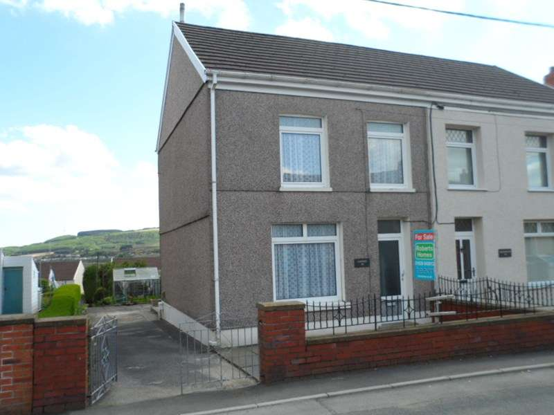 3 Bedrooms Semi Detached House for sale in Heol Eglwys, Coelbren, Neath