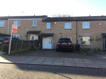 3 Bedrooms Terraced House for sale in Byerly Place, Downs Barn, Milton Keynes