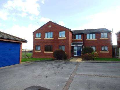 2 Bedrooms Flat for sale in Fieldside Court, 21 Main Road, Broughton, Flintshire, CH4