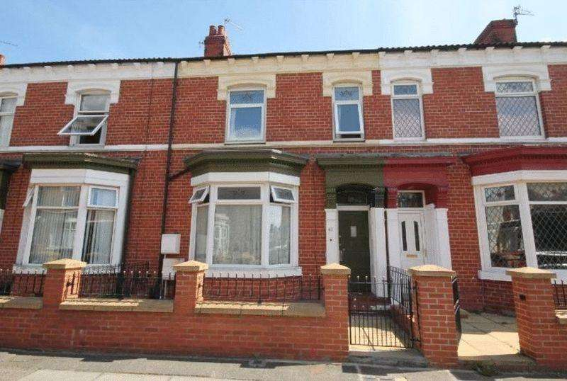 4 Bedrooms Terraced House for sale in AUCTION - Hartington Road, Stockton TS18 1HD
