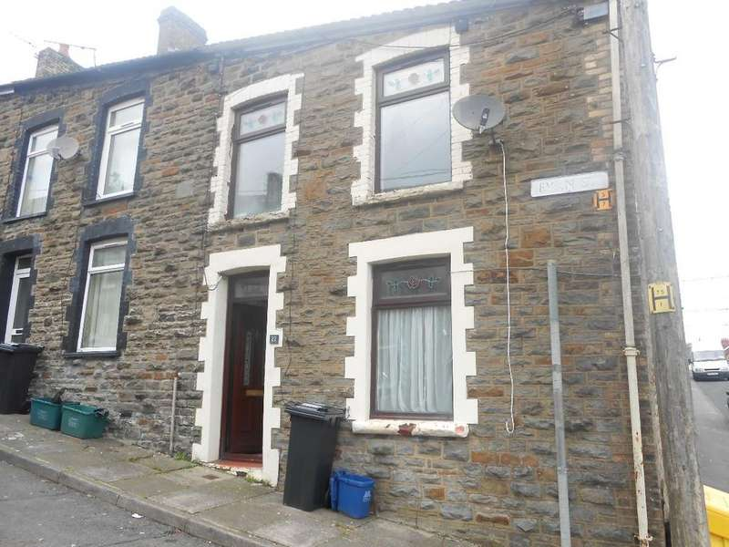 2 Bedrooms Terraced House for sale in Evan Street, Treharris