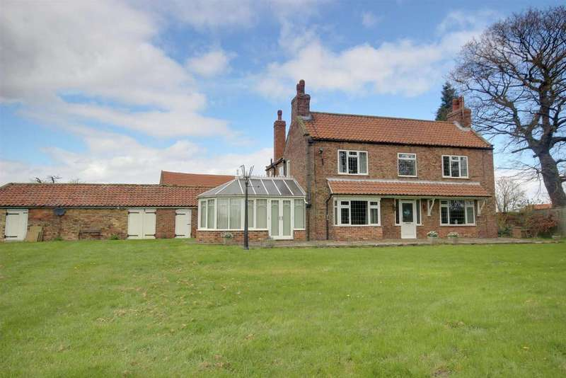 4 Bedrooms Detached House for sale in Common Lane, North Cave